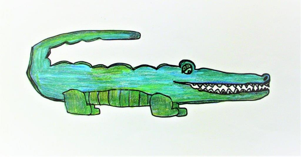 Zoo Animals - Crocodile