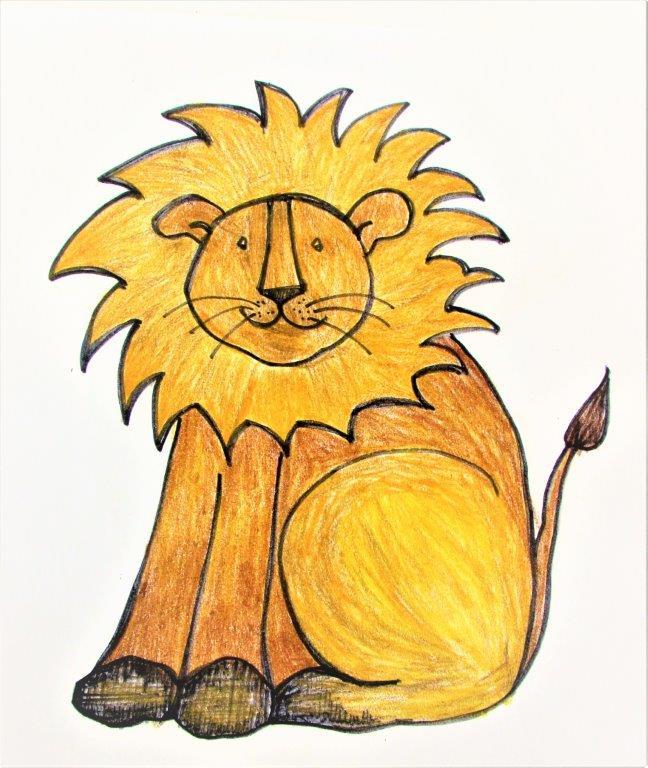 Zoo Animals -Funny Lion