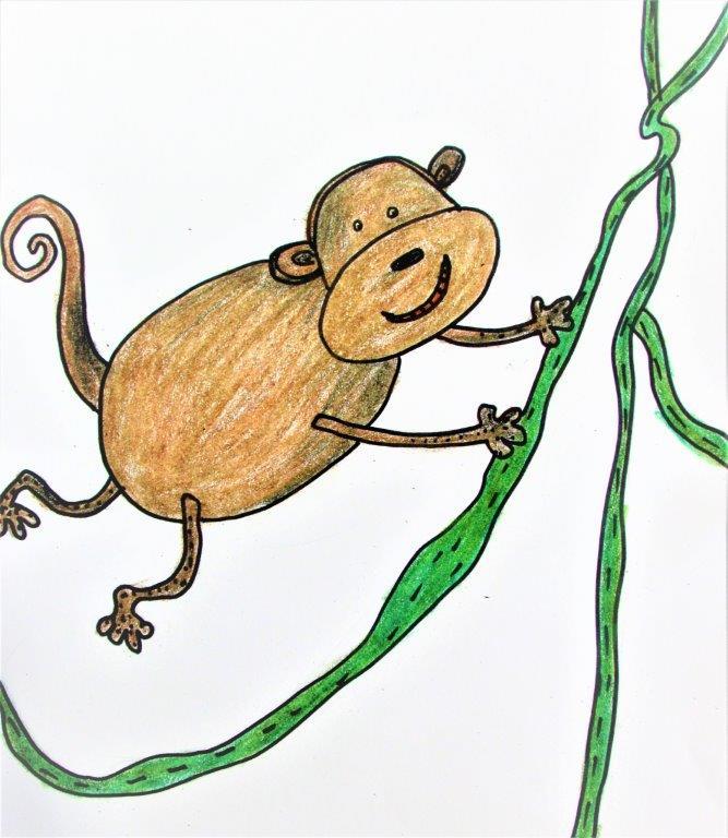 Zoo Animals - Monkey