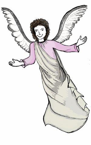 Christmas : Angel, messanger of God