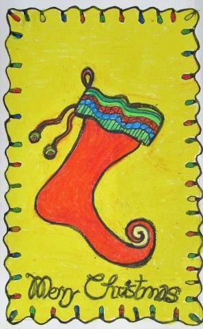 Christmas Greetings - Colored