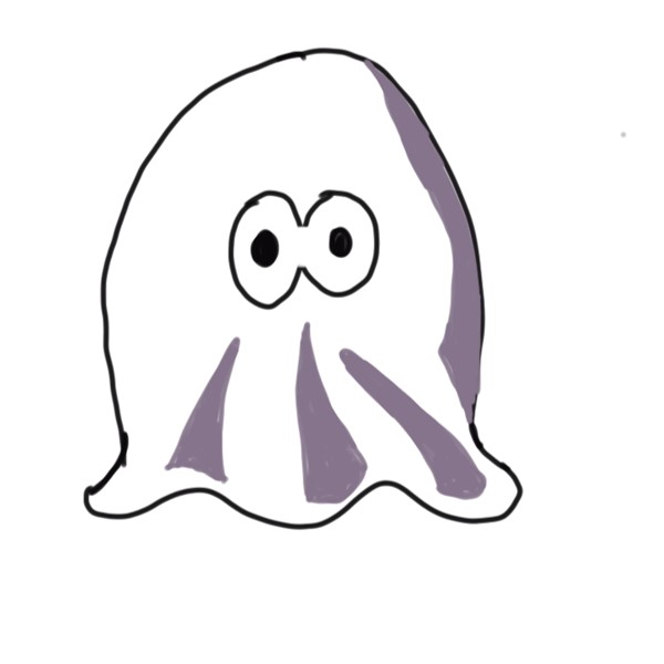 Halloween Clumsy Ghost