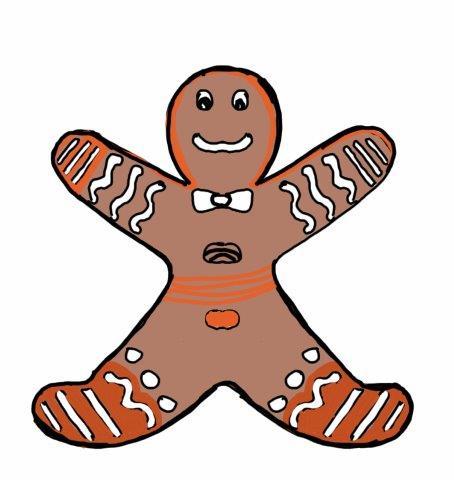 Christmas : Gingerbread man